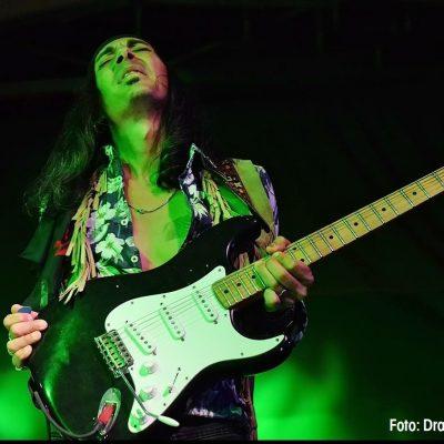 Fulvio Feliciano als Jimi Hendrix